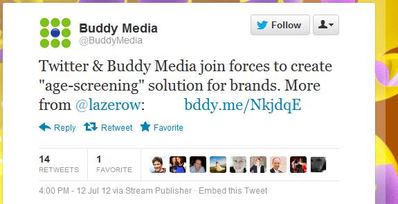 buddymedia tweet