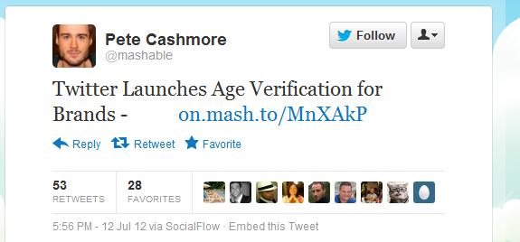 mashable tweet