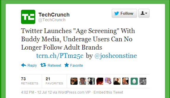 techcrunch tweet